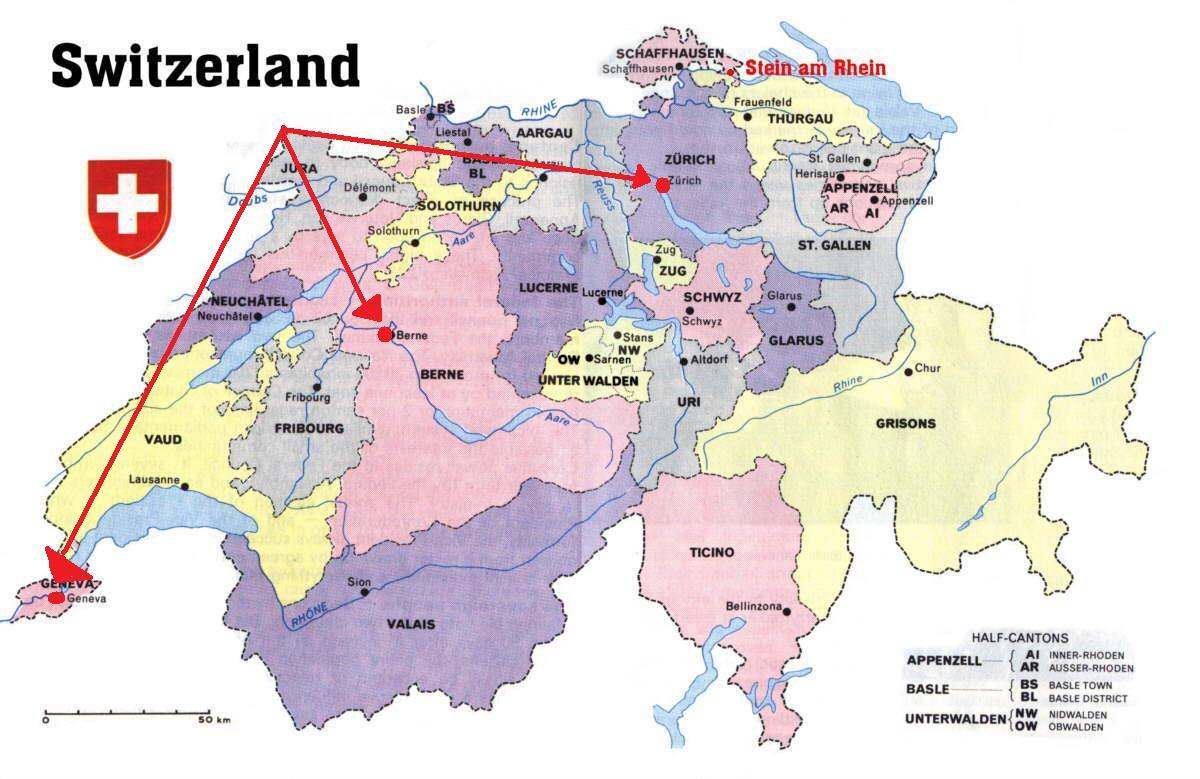 Cartina Zurigo.Zurigo Svizzera Mappa Dell Europa Cartina Di Zurigo Svizzera Mappa Europa Europa Occidentale Europa